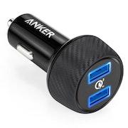Anker PowerDrive Speed 2 QC mobilladdare för bilen