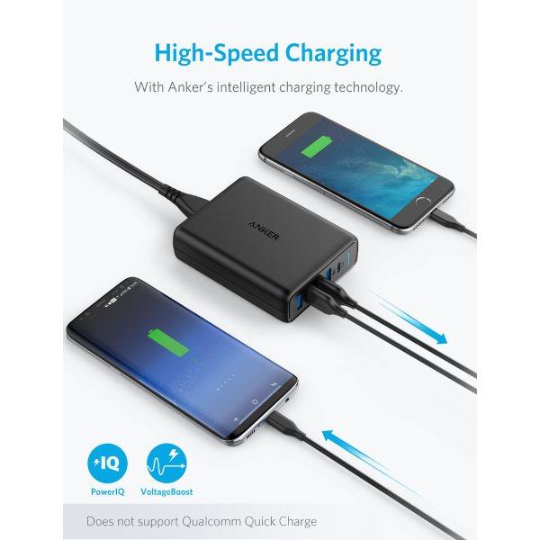 Anker PowerPort Speed PD 5 USB C mobilladdare Mobilladdare och powerbanker för alla mobiler