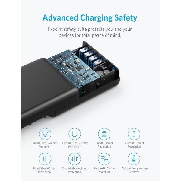 Anker PowerPort Speed Power Delivery 5 mobilladdare med skyddsfunktioner