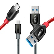 Anker PowerLine+ USB-A till USB-C kabel, 90cm