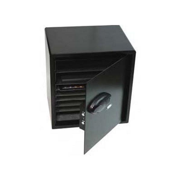 Datorskåp för stöldsäker förvaring av 10 laptops eller 20 iPads/surfplattor från Ceka