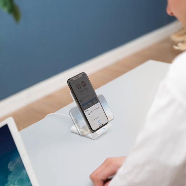 Ankwer PowerWave 7.5 Stand ger uppsyn över telefonen