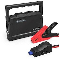 RAVPower 18000mAh starthjäpsbatteri och powerbank