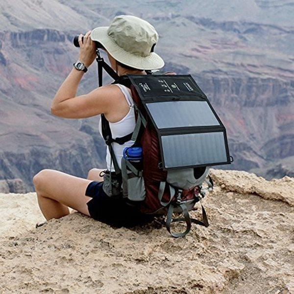 PowerPort Solar Lite 2 Ports laddar på vandring