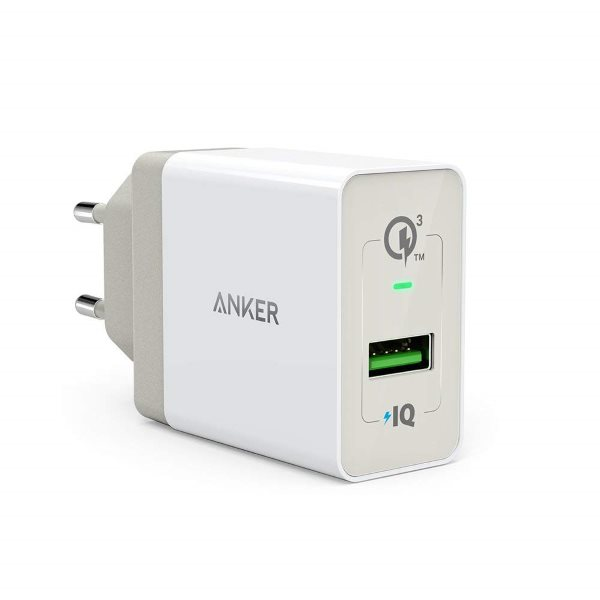 Anker PowerPort+ 1 - Quick Charge mobilladdare - vit