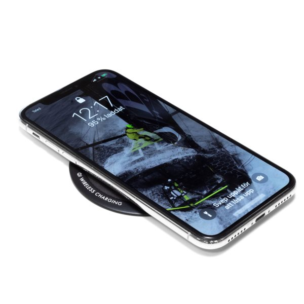 Airlectra snabb trådlös Qi laddare laddar iPhone X snabbt