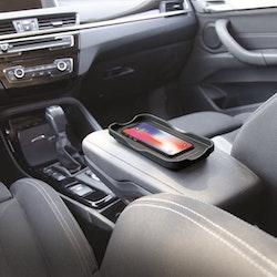 Minibatt trådlös laddare för bilen och mjuka underlag