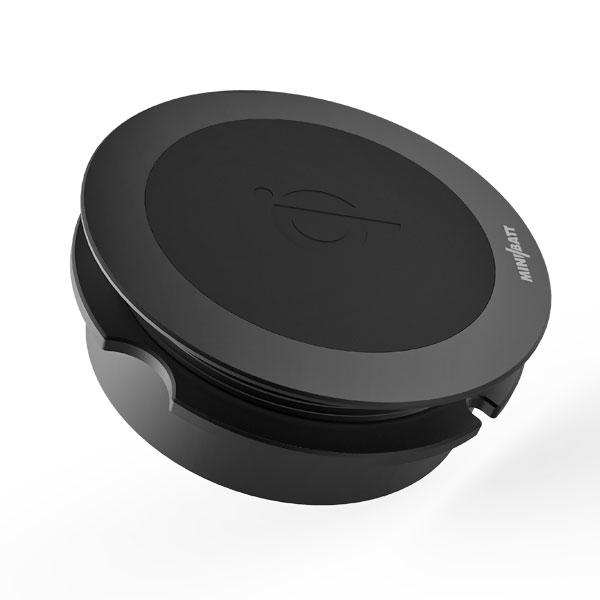 Minibatt trådlös laddare för montering - svart 2