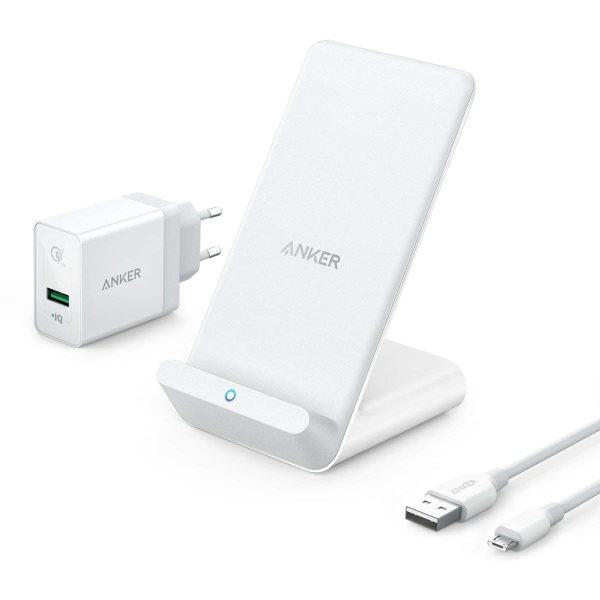 Anker PowerWave 7.5 Stand med laddare