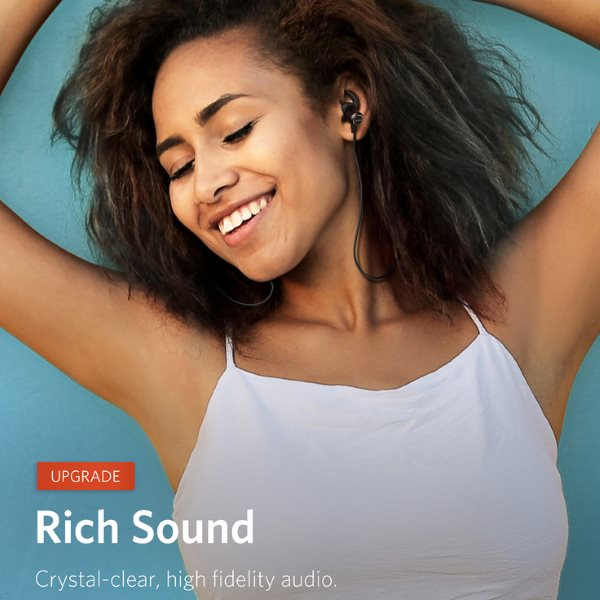 Anker Soundbuds Slim plus bra ljudkvalitet