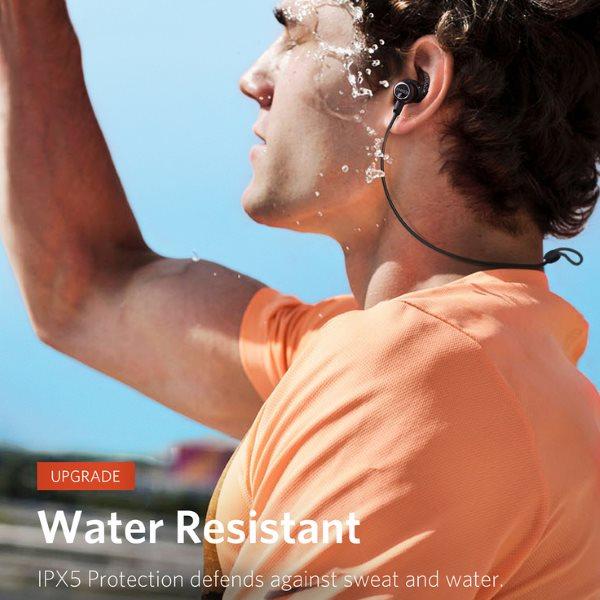 Anker Soundbuds Slim plus klarar vatten