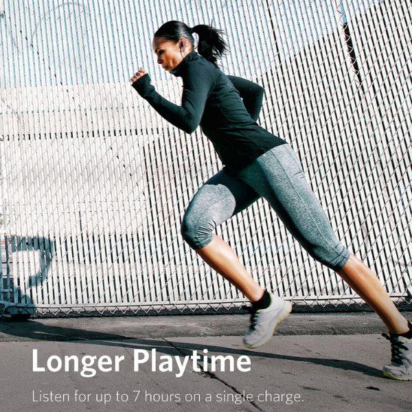 Anker Soundbuds Slim plus lång speltid