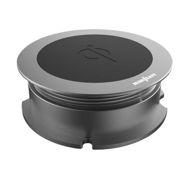 Minibatt trådlös laddare för montering - titanium