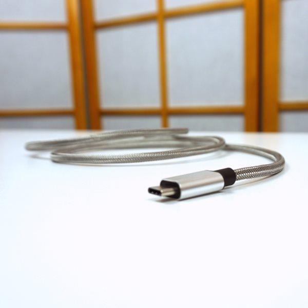 Fuse Chicken Armour USB-C 1m rostfritt stål