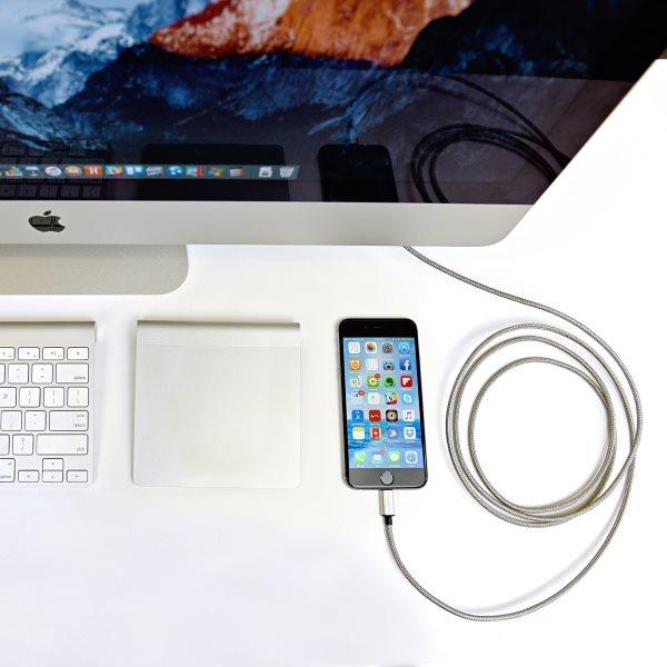 Fuse Chicken Armour Lightning 2m mellan iMac och iPhone