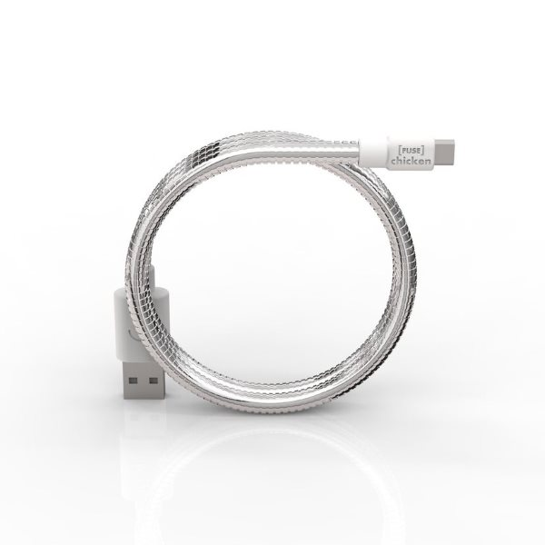 Fuse Chicken Titan mikro USB 50cm - silver