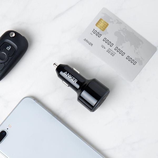 Anker PowerDrive Speed 2 USB-C mobilladdare för bilen kompakt design