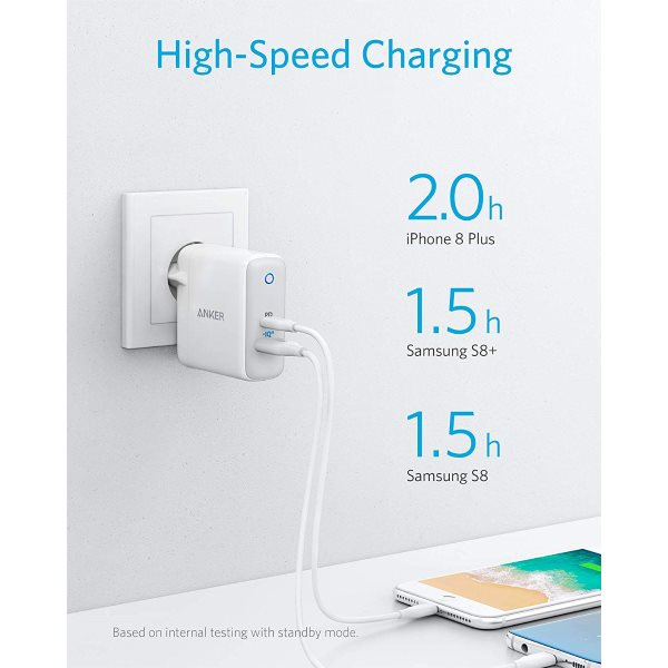 Anker PowerPort II mobilladdare med Power Delivery 30W