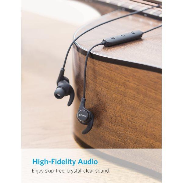 Anker SoundBuds Flow bluetooth hörlurar bra ljudkvalitet
