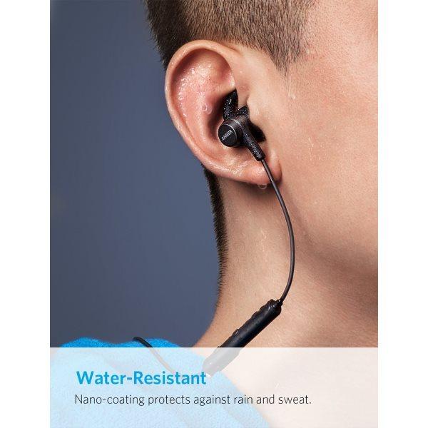 Anker SoundBuds Flow bluetooth hörlurar vattensäkra