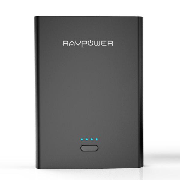 RAVPower 10400mAh powerbank med 2 uttag 2