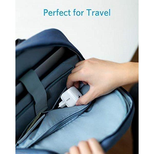 Anker PowerPort Atom PD1 mobilladdare för resan, vit