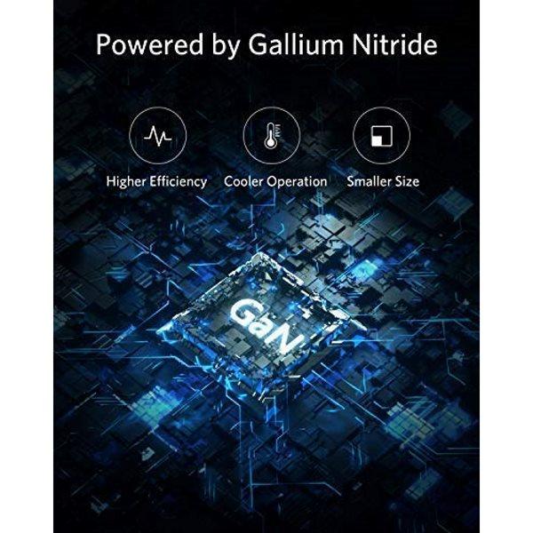Anker PowerPort Atom PD1 mobilladdare, ny teknologi, vit
