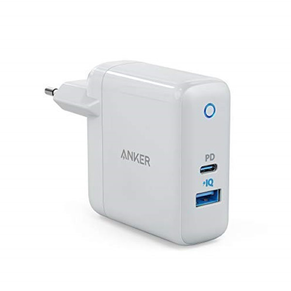 Anker PowerPort Speed+ Duo mobilladdare med 30W Power Delivery