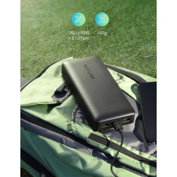RAVPower 32000mah powerbank 2