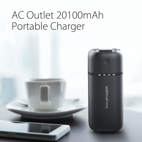 RAVPower 20100 Powerbank med 220V eluttag