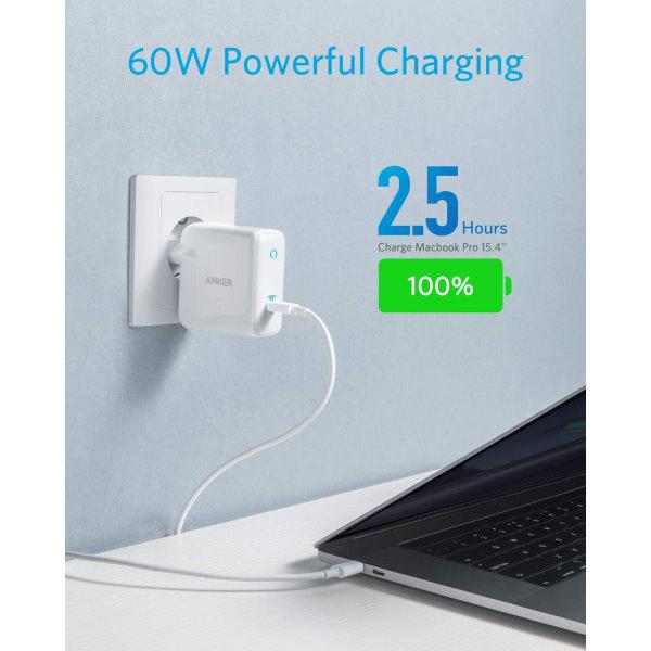 Anker PowerPort Atom III 1 uttag för MacBook Pro