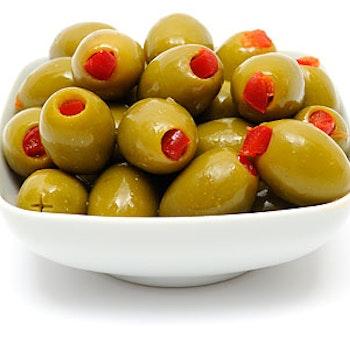 Manzanilla oliver fyllda med pimiento 720g