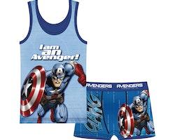 Avengers Linne & boxerkalsong set