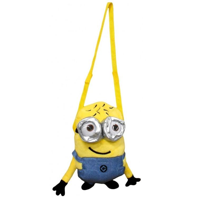 Minions plysch väska/gosedjur