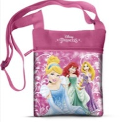 Prinsessor handväska rosa