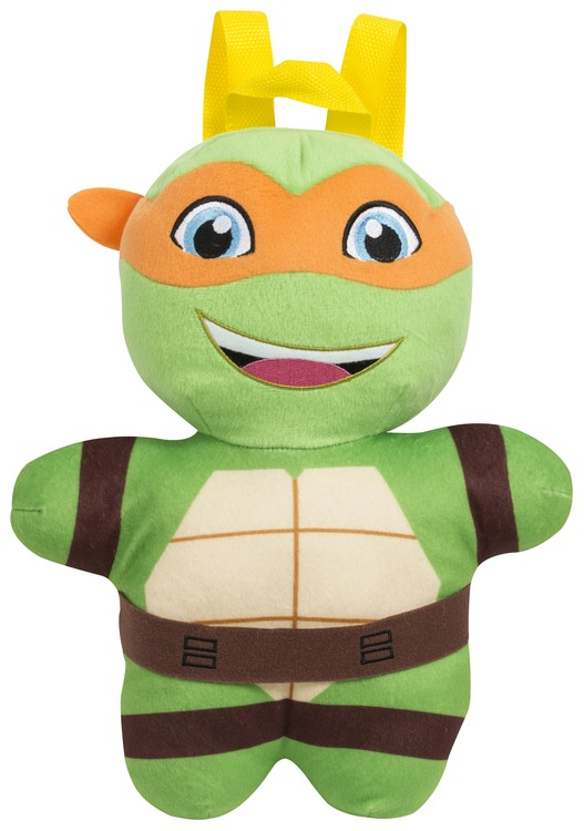 Turtles ryggsäck/gosedjur i plysch