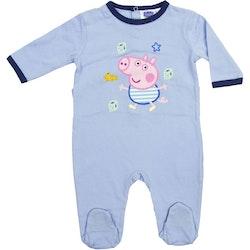 Greta gris baby pyjamas/sparkdräkt
