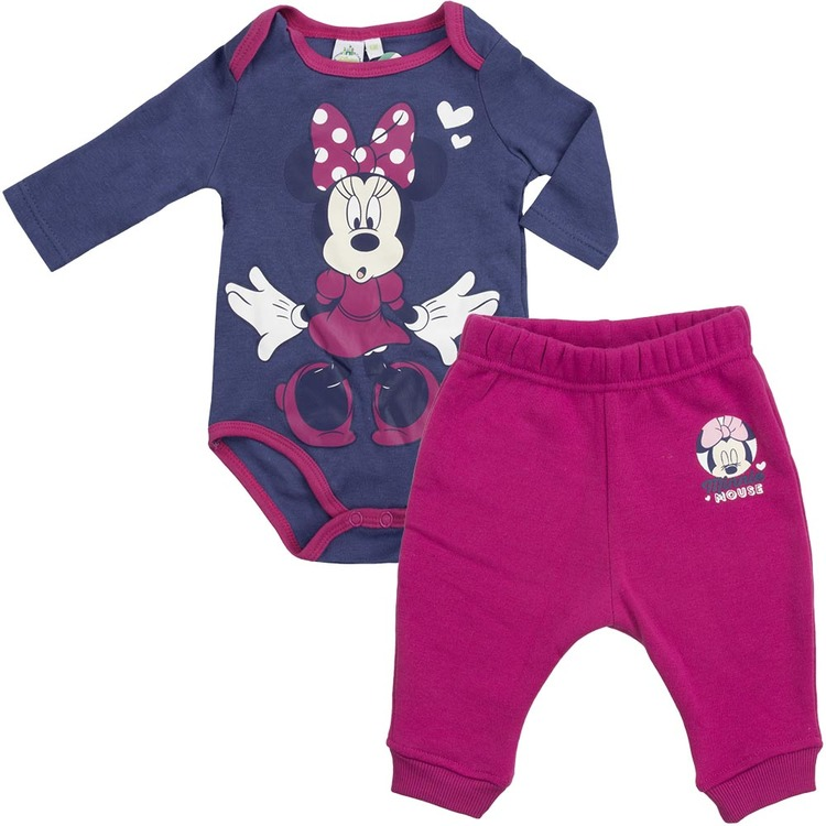 Minnie mouse baby set med body & byxa