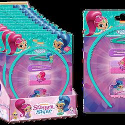 Shimmer & Shine hårset 6 delar