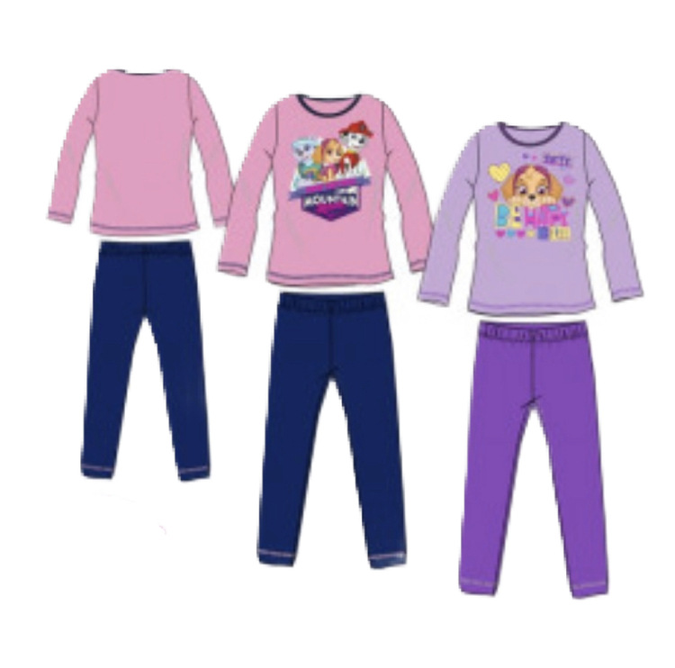Paw patrol 2 delad pyjamas