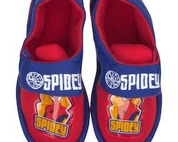 Spiderman Tofflor med gummisula
