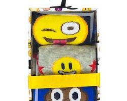 Emoji 3-pack strumpor 23/26