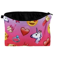 Unicorn & Emojis Necessär