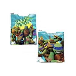 Turtles Bad/dusch Poncho/cape