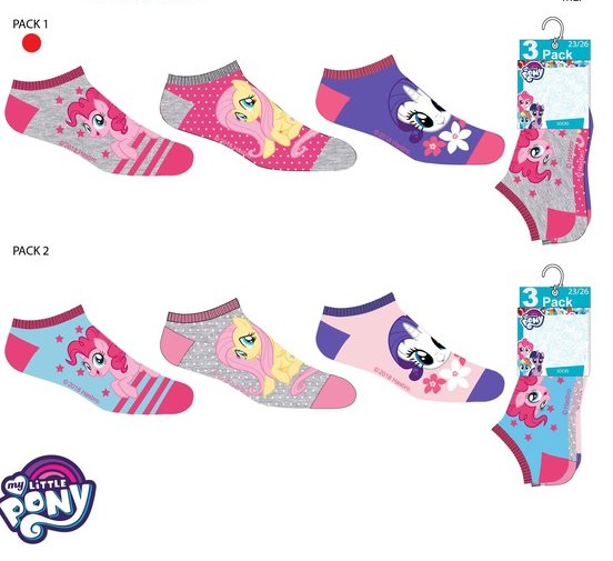 My little pony 3-pack ankel strumpor