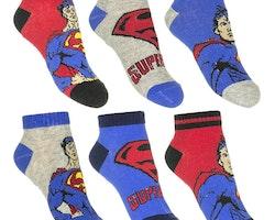 Superman 3-pack ankel strumpor