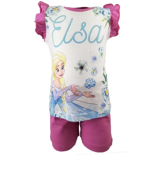 Frost Set med tröja och shorts - rosa