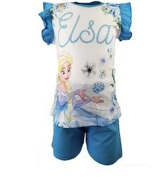 Frost Set med tröja och shorts - blå