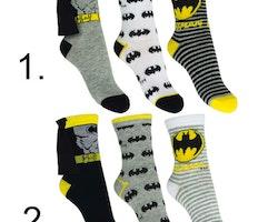 Batman Strumpor 3-pack