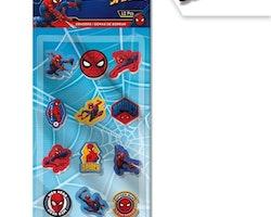 Spiderman 12-pack suddigum